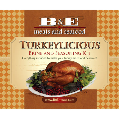 Turkeylicious Brine and Seasoning Kit (priced per kit)