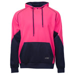 BAD® ESSENTIAL™ WOMEN'S PINK HI-VIS FLEECE HOODIE