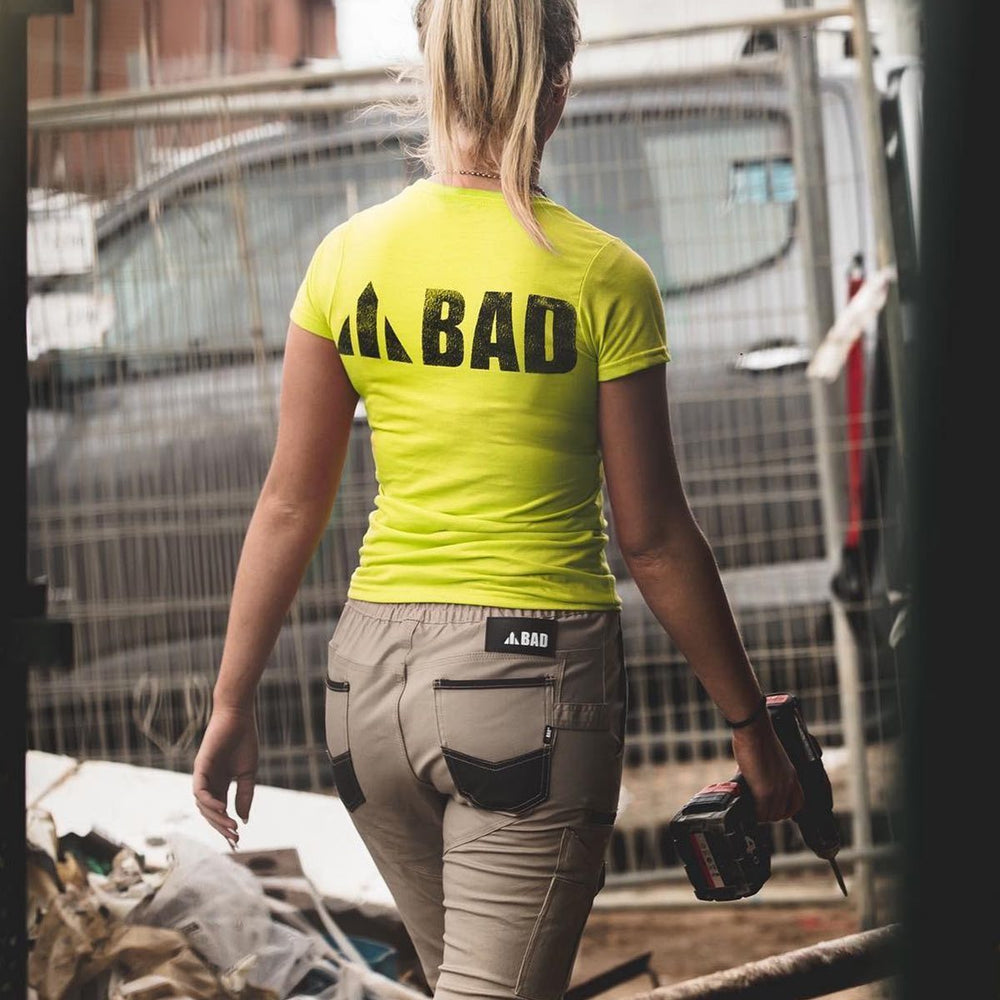BAD SAVIOUR™ CUFFED ELASTIC WAIST WORK PANTS