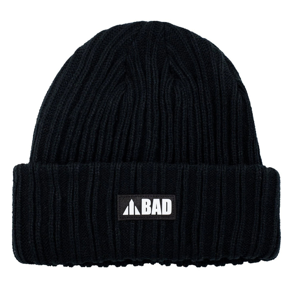 BAD CABLE KNIT BEANIE