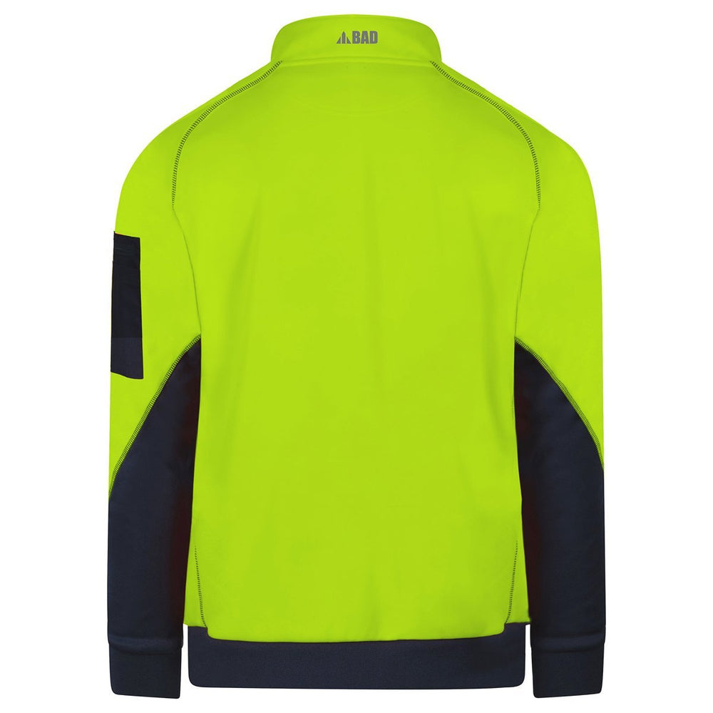 BAD® WATERPROOF HI-VIS FLEECE 1/4 ZIP SWEATER