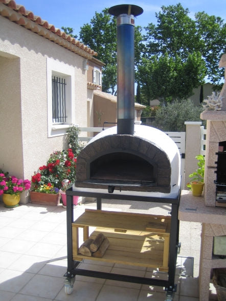 "CHIMNEY PIPE EXTENTION 38"" - Authentic Pizza Ovens"