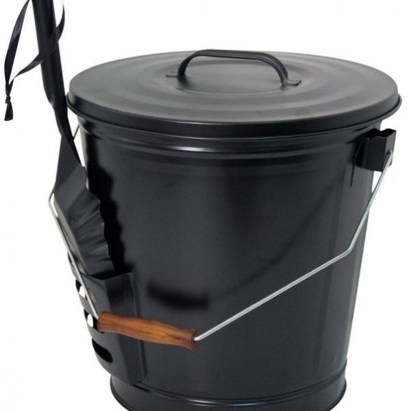 ASH BUCKET & SHOVEL