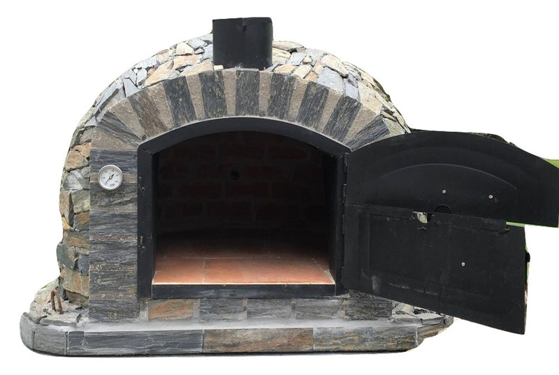 LISBOA PIZZA OVEN STONE FINISH - Authentic Pizza Ovens