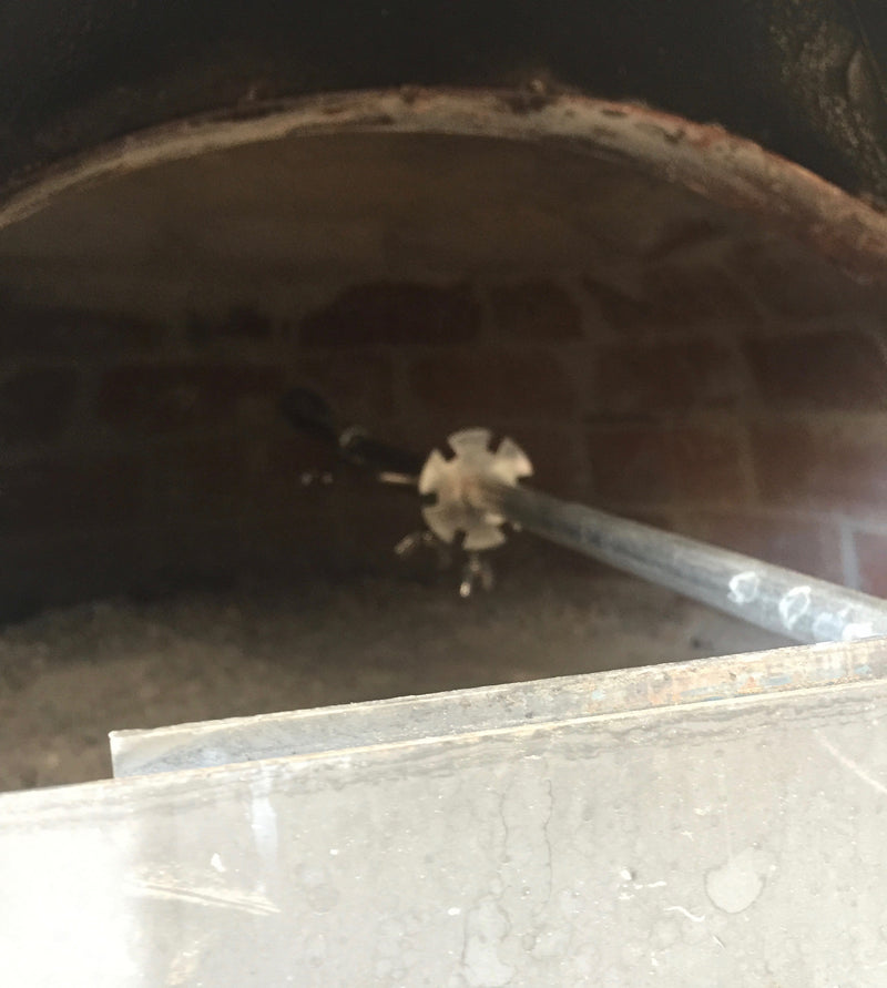PIZZA OVEN ROTISSERIE - SPIT