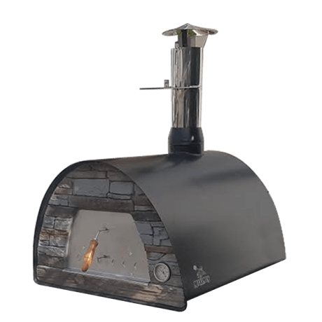 MAXIMUS ARENA MOBILE PIZZA OVEN BLACK