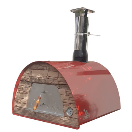 MAXIMUS ARENA MOBILE PIZZA OVEN RED