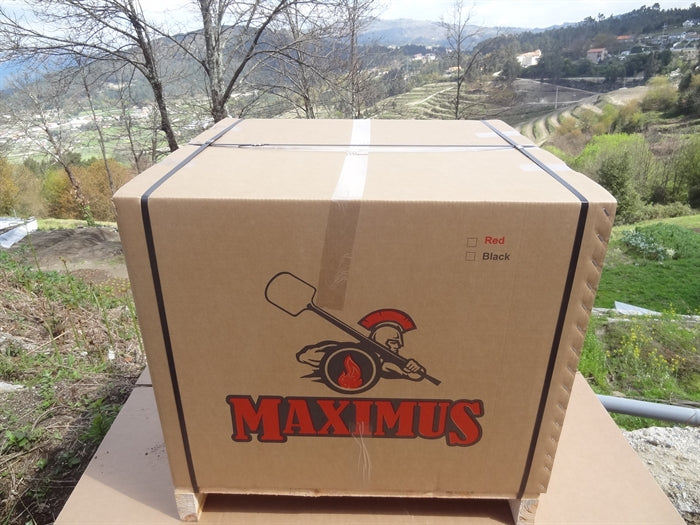 MAXIMUS ARENA MOBILE PIZZA OVEN BLACK - Authentic Pizza Ovens