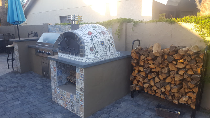 "PIZZAIOLI PIZZA OVEN ""NEW"" STONE ARCH PREMIUM - Authentic Pizza Ovens"