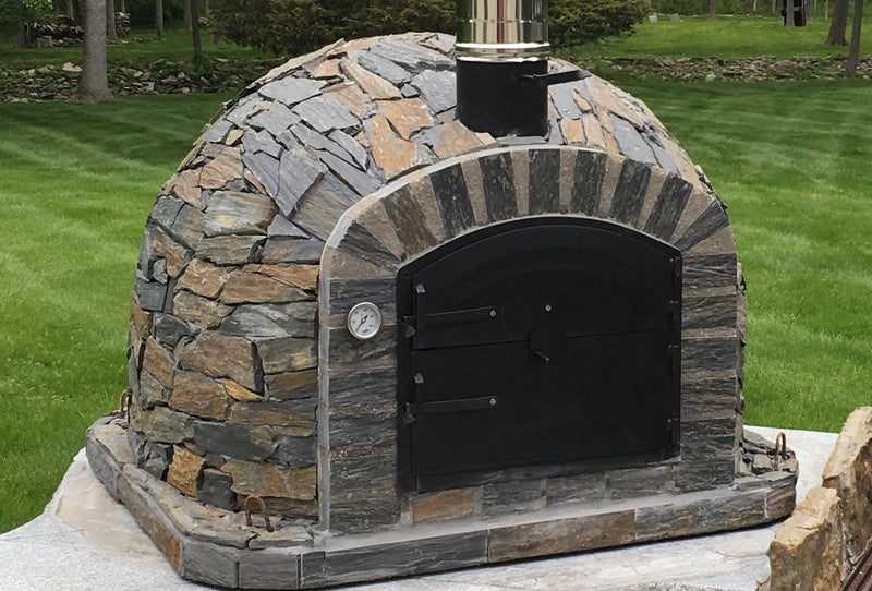 LISBOA PIZZA OVEN STONE FINISH