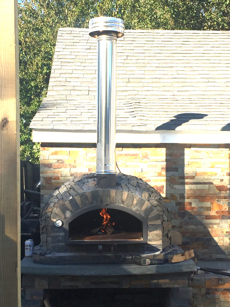 NEW PIZZAIOLI PIZZA OVEN STONE FINISH - PREMIUM - Authentic Pizza Ovens