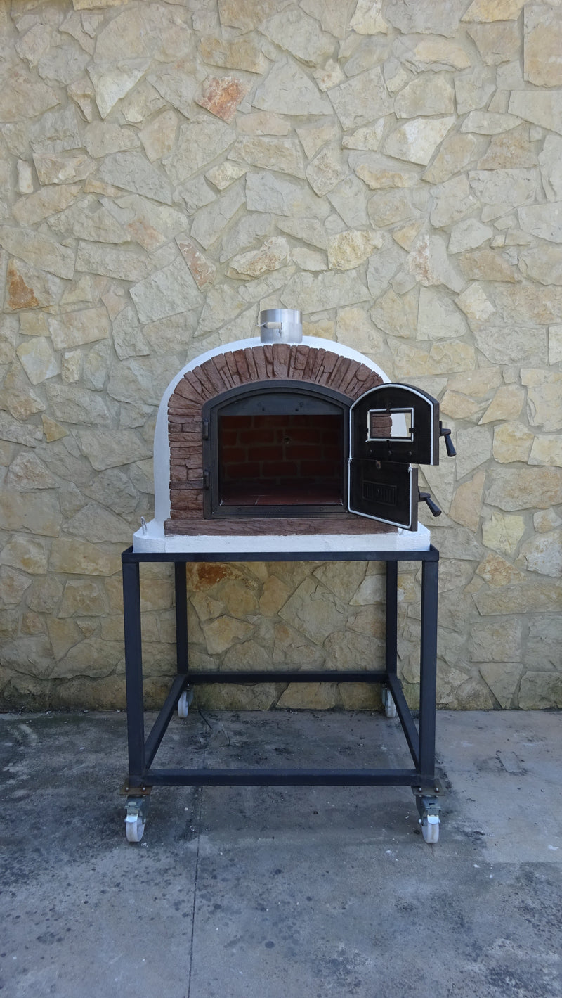 "VENTURA ""red""  PREMIUM PIZZA OVEN **BRAND NEW** - Authentic Pizza Ovens"