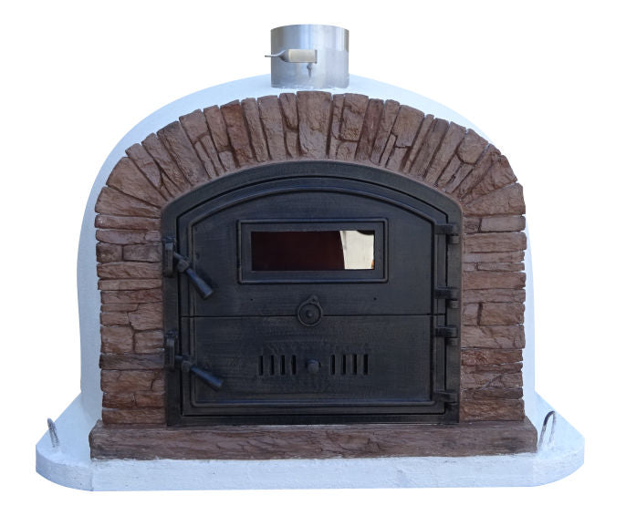 "VENTURA ""RED BRICK""  PREMIUM PIZZA OVEN **BEST SELLER** - Authentic Pizza Ovens"