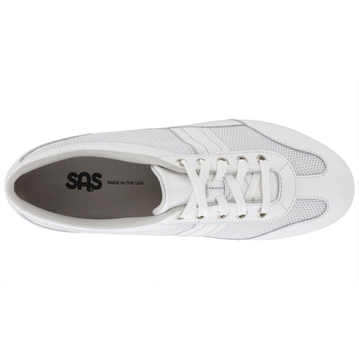 FT Mesh White by SAS Shoes: Comfort Women's Shoes