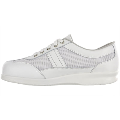 SAS Shoes FT Mesh White: Comfort Women's Shoes