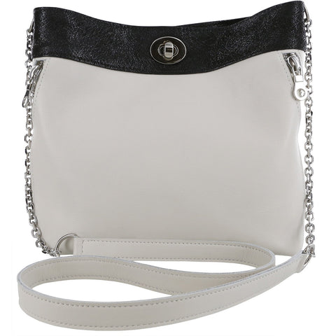 SAS Shoes Heidi Off White / Black Web: Comfort Handbags