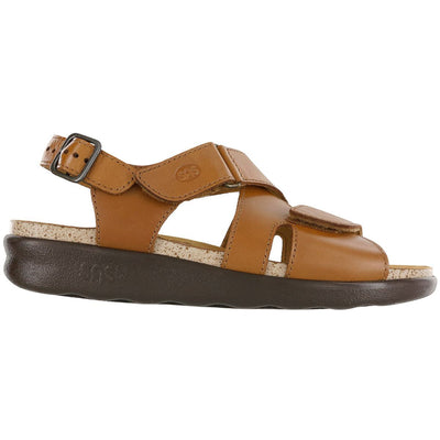 SAS Shoes Huggy Caramel: Comfort Women's Sandals