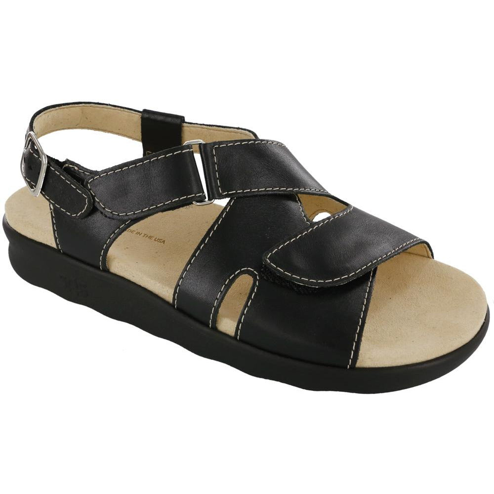 Huggy Nero by SAS Shoes: Comfort Women's Sandals