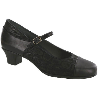 Isabel Black / Snake by SAS Shoes: Comfort Women's Shoes