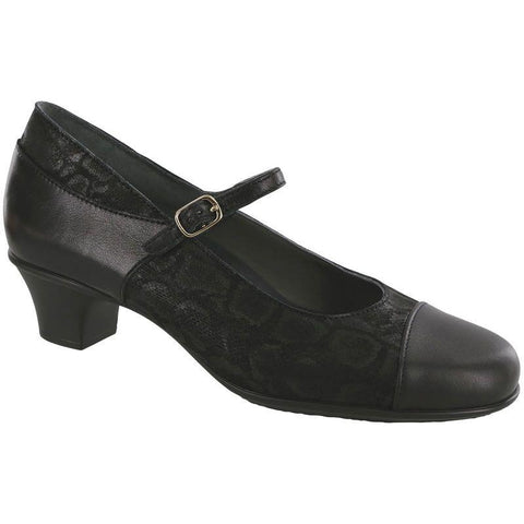 SAS Shoes Isabel Black / Snake: Comfort Women's Shoes