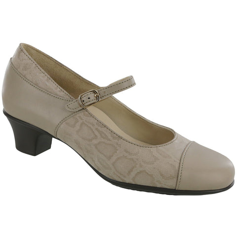 SAS Shoes Isabel Taupe / Snake: Comfort Women's Shoes