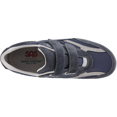 SAS Shoes JV Mesh Blue: Comfort Men's Shoes