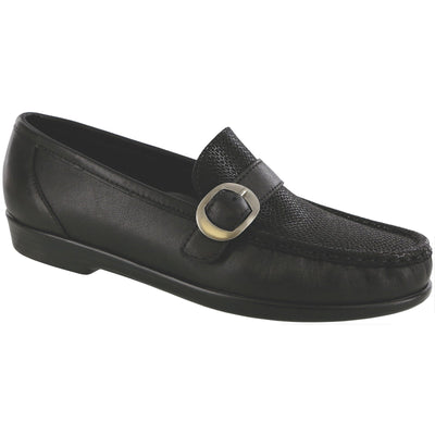 SAS Shoes Lara Black Marsh: Comfort Women's Shoes