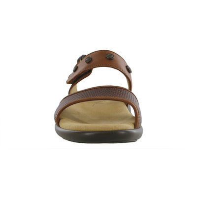 SAS Shoes Lisette Woven Brown: Comfort Women's Sandals
