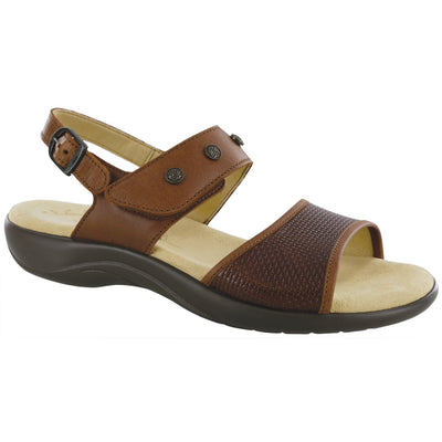 Lisette Woven Brown by SAS Shoes: Comfort Women's Sandals