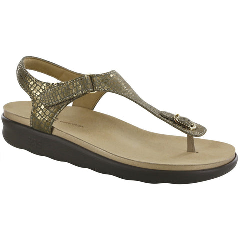 SAS Shoes Marina Olive Gold: Comfort Women's Sandals