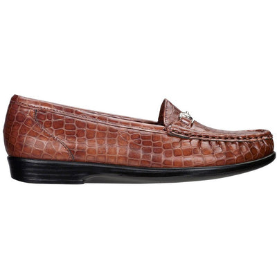 SAS Shoes Metro Cognac Croc: Comfort Women's Shoes