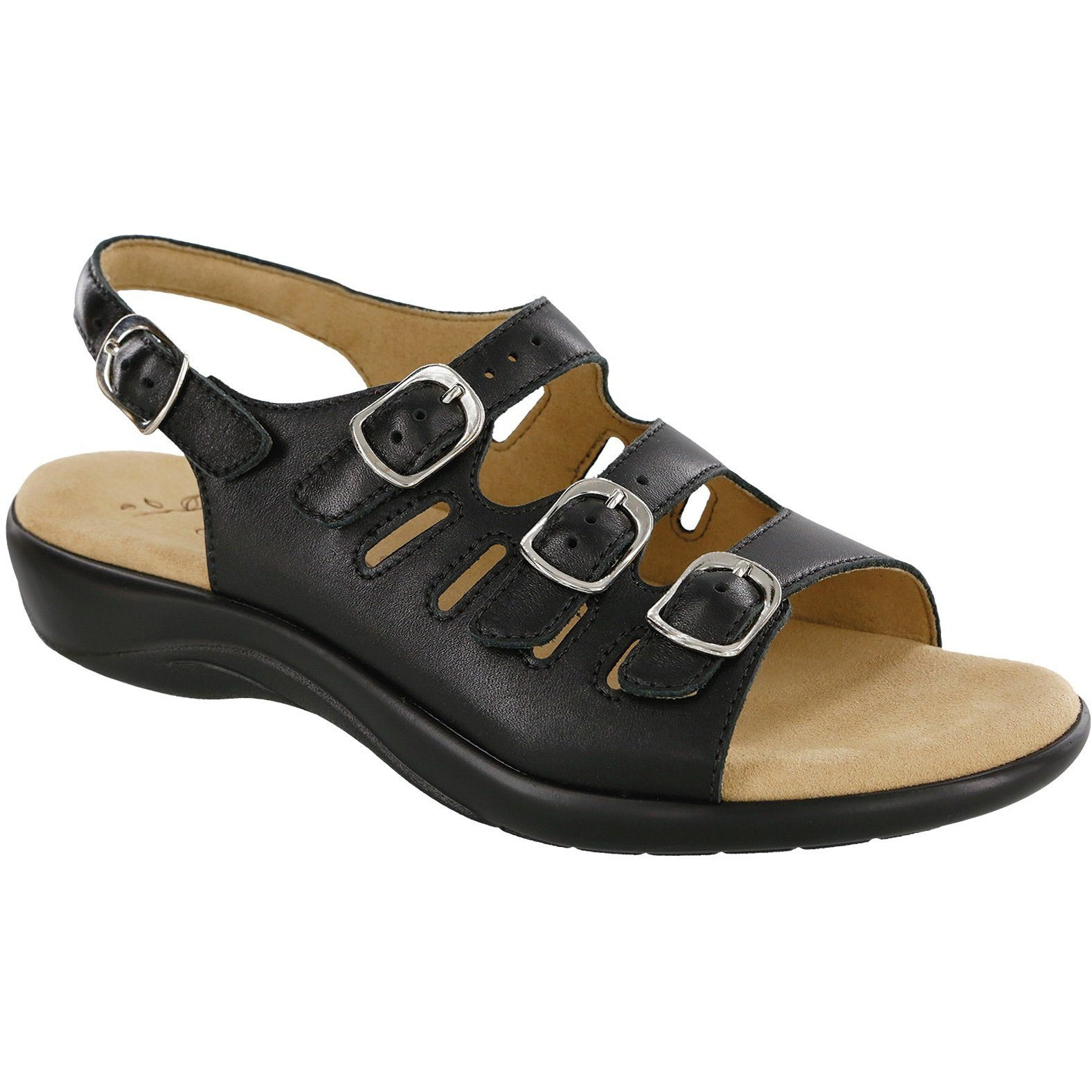 Mystic Black by SAS Shoes: Comfort Women's Sandals