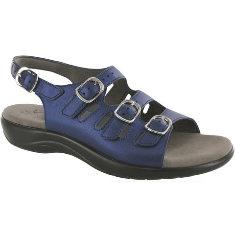 SAS Shoes Mystic Blue Perlato: Comfort Women's Sandals