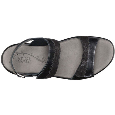 SAS Shoes Nudu Midnight: Comfort Women's Sandals