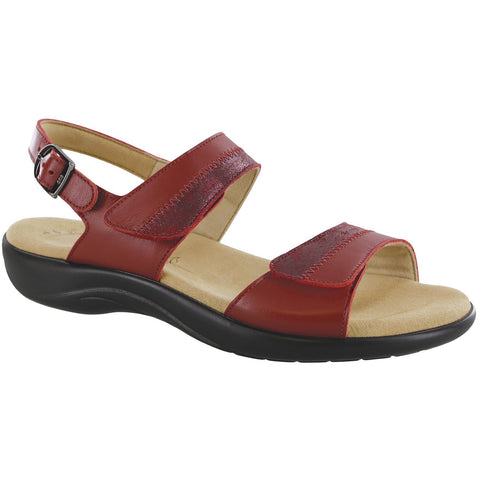 SAS Shoes Nudu Ruby / Cabernet: Comfort Women's Sandals