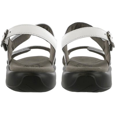 Nudu White by SAS Shoes: Comfort Women's Sandals