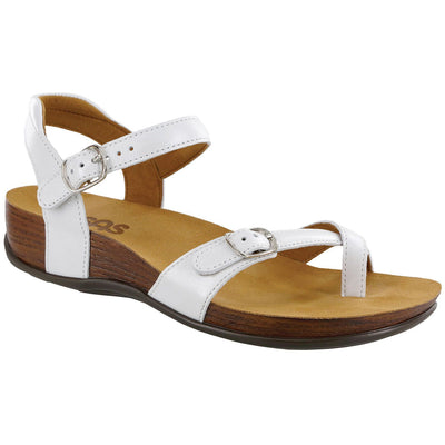 SAS Shoes Pampa Pearl White: Comfort Women's Sandals