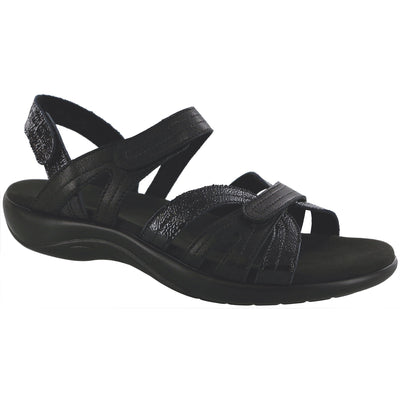 SAS Shoes Pier Black Sand: Comfort Women's Sandals
