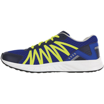 SAS Shoes Pursuit Blue / Neon Yellow: Comfort Men's Shoes