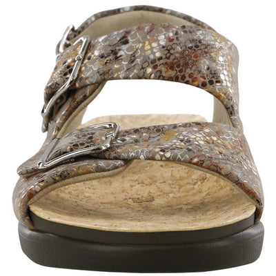 SAS Shoes Relaxed Multisnake Taupe: Comfort Women's Sandals