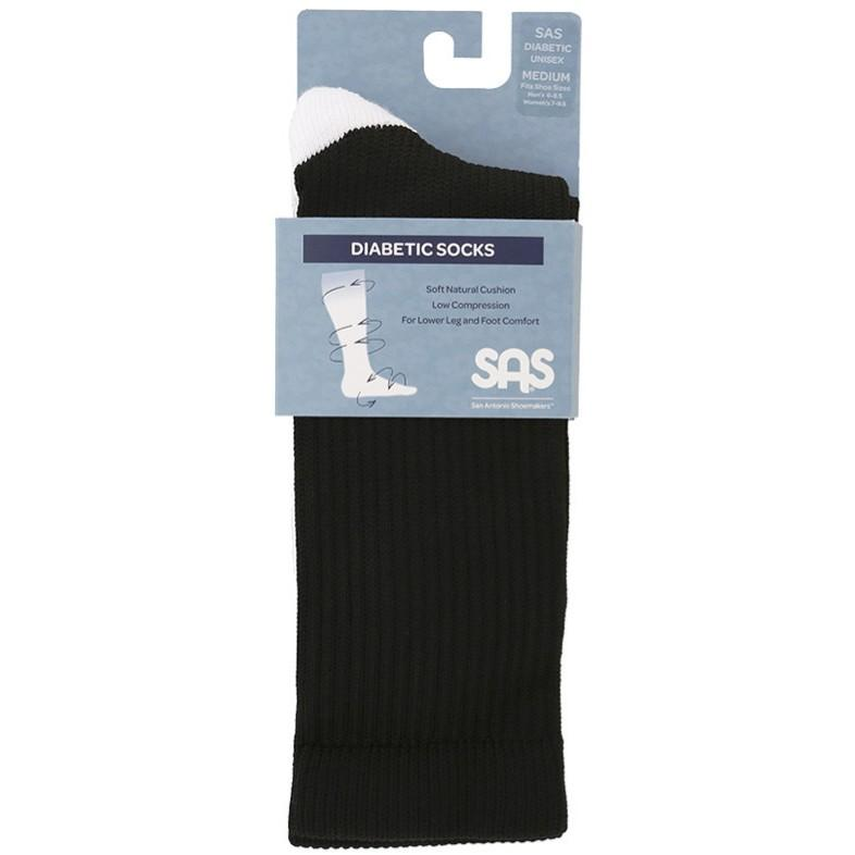 SAS Diabetic Crew Socks