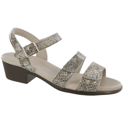 SAS Shoes Savanna Multisnake Gold: Comfort Women's Sandals