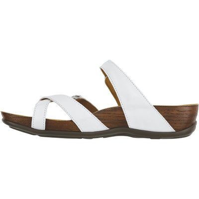 SAS Shoes Shelly Pearl White: Comfort Women's Sandals