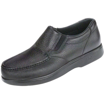 SAS Shoes Side Gore Black: Comfort Men's Shoes
