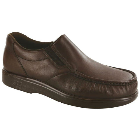 SAS Shoes Side Gore Brown: Comfort Men's Shoes