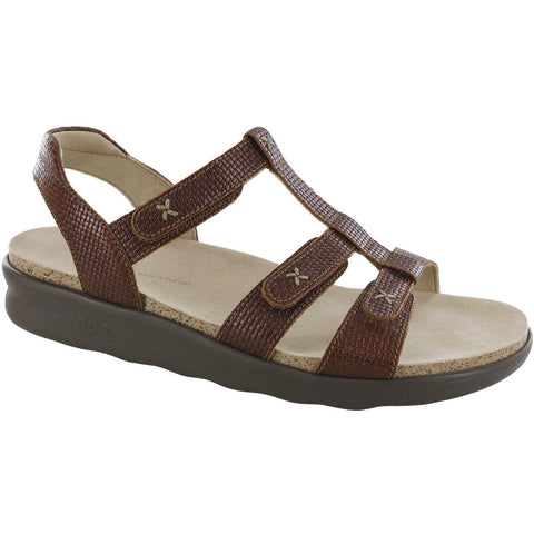 SAS Shoes Sorrento Woven Brandy: Comfort Women's Sandals
