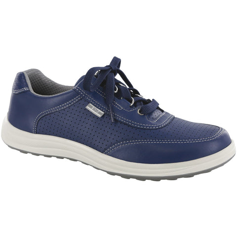SAS Shoes Sporty Lux Blue Perf: Comfort Women's Shoes