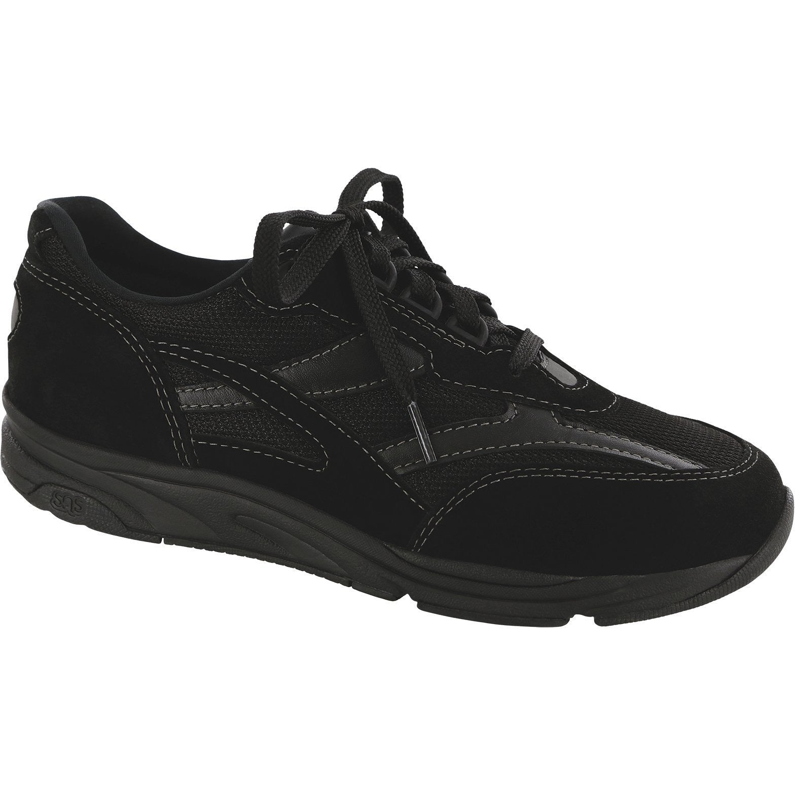 Tour Mesh Black by SAS Shoes: Comfort Women's Shoes
