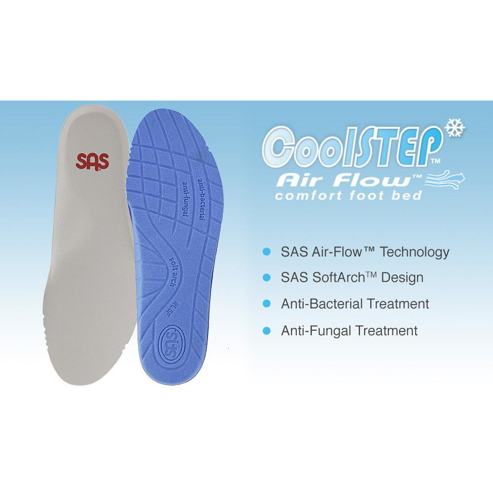 SAS Shoes Women's Cool Step #1: Comfort Accessories