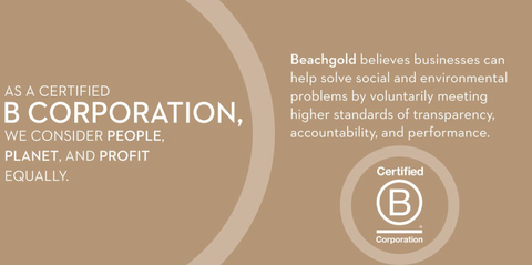 Beachgold Womens Fashion Apparel B Corp Certification